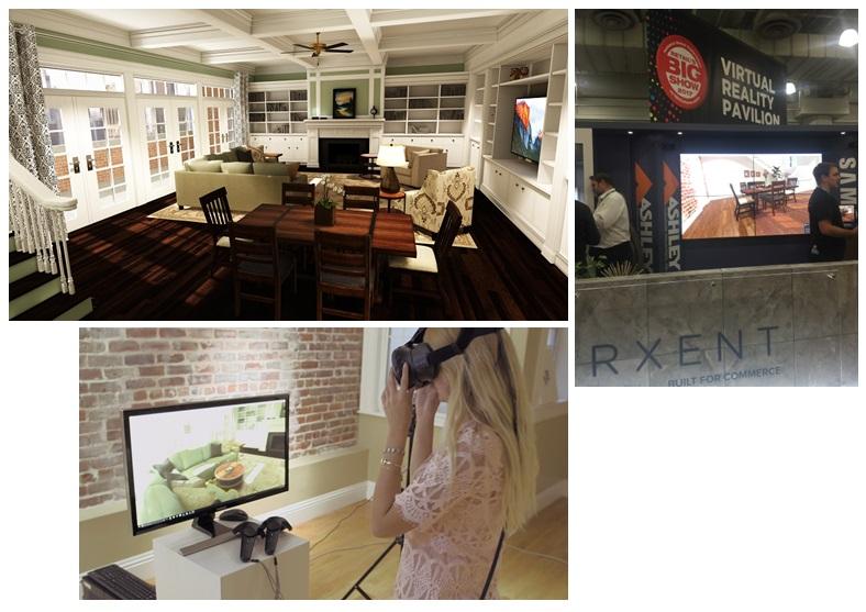 Ashley Virtual Furniture Showroom
