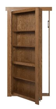 murphy door  sc 1 st  Furniture Today & Murphy Door uses new fasteners for bookshelf doors | Furniture Today