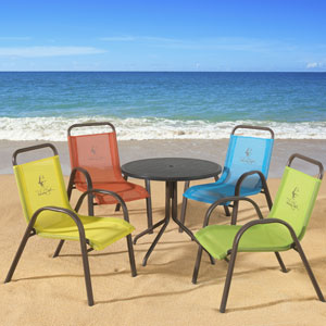 Pelican Reef Launches Panama Jack Outdoor Kids Dining Set Casual Living