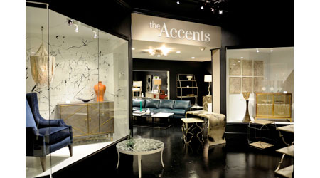 Hooker Furniture has a new showroom dedicated to its accent furniture offerings at this week's High Point Market.