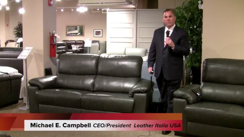 leather italia video