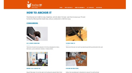 anchor it
