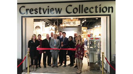 Crestview Collection's showrooms are expanding throughout 2017.