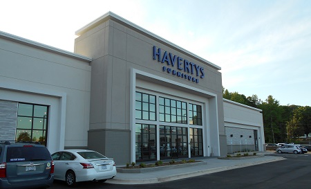 havertys store front