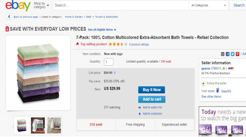 eBay muscles into online price wars