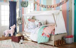 A Junk Gypsy girls room