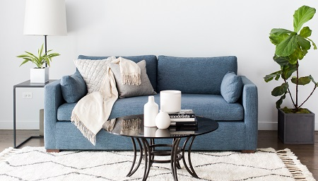 Interior Define Partners With Chris Loves Julia Bloggers For Sofa Design |  Furniture Today