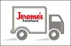 Jerome's Furniture truck