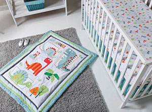 Trend Lab Llc Launches Dinosaur Themed Nursery Collection