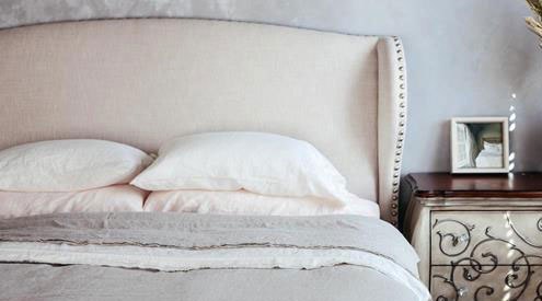 Saphyr Pure Linen Debuts DTR Pure French Linen Bedding
