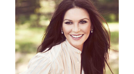Catherine Zeta-Jones launching home at QVC