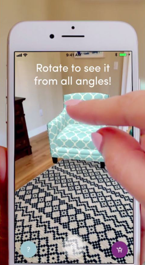 BOSTON U2014 Wayfair Inc. Today Added An Augmented Reality (AR) Feature To Its  Mobile Shopping App, Allowing Shoppers To View 3D Images Of Furniture And  Décor ...