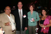 Julius Feinblum, Julius M. Feinblum Real Estate; Jeff Baker, Carls, Coconut Creek, Fla.; Roxanne Stevens, Sealy; and Linda Feinblum, Julius M. Feinblum Real Estate.