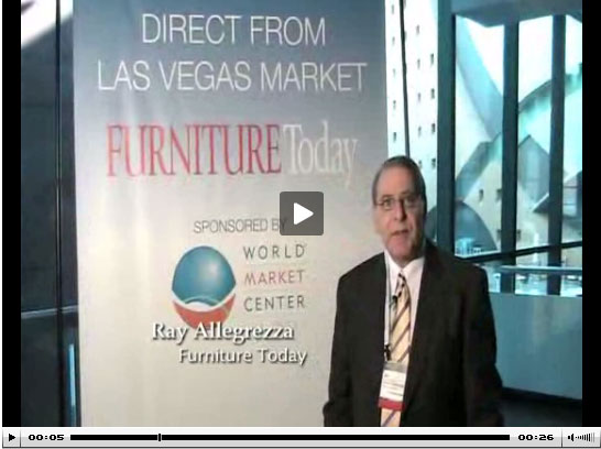 Ray Allegrezza at Las Vegas Market