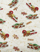 The Stage Coach sheet set from Traditions by PamelaKline pays ode to vintage western themes, (518) 851-3975.