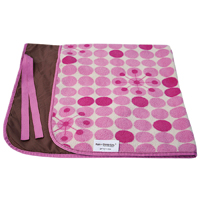The Sunburst blanket from Rain or Shine Kids is plush and weather resistant.