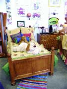 Charlotte's Bellini store carries both infant and youth beds and case goods.