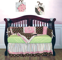 The Sophia four-piece crib set