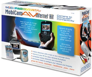 The MobiCam Internet Kit enables remote monitoring.