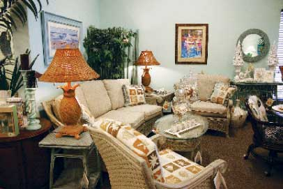 Sunshine Wicker & Design, Pompano Beach, Fla.