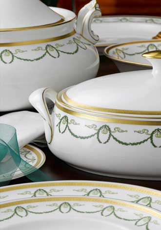 Titanic dinnerware from Royal Crown Derby