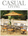 Casual Living cover for August 2011