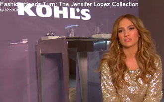 Jennifer Lopez and Kohls