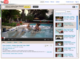 Caldera Spas video channel