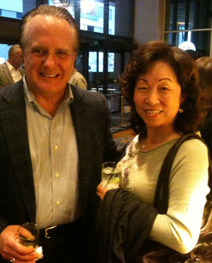 Joe Logan and Margaret Chang at ICFA meeting