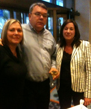 Roberta Cioci, Greg Johnson and Linda Brown at ICFA meeting
