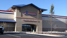 The 150,000-square-foot American Furniture Warehouse showroom and warehouse in Grand Junction is the retailer's 12th Colorado store and will help push total sales this year to about $330 million, President and CEO Jake Jabs estimated.