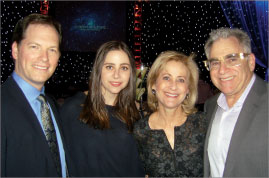 Sleep Doctor Michael Breus, left; Michelle, Pam and Earl Kluft, all of E.S. Kluft & Co.
