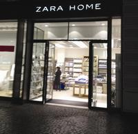 The two-story Zara Home
