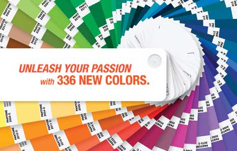 Pantone unleashes 336 new colors