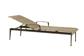 Flight woven adjustable chaise