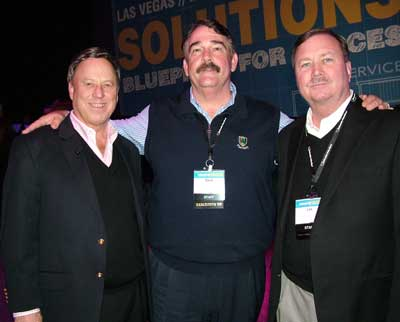 Robert Weisner, left, Les Kirk and Dave Bilas, Nationwide Marketing Group.