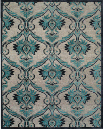 A power-loomed addition to  eizy's Home collection, the Saphir Yardley is a high-low viscose rug.
