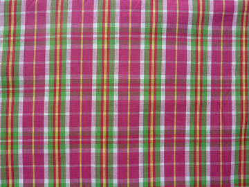 Textile Solutions' Metro Pink Plaid
