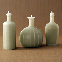 Henry Bottle Candle collection from GreenTree Home Candle