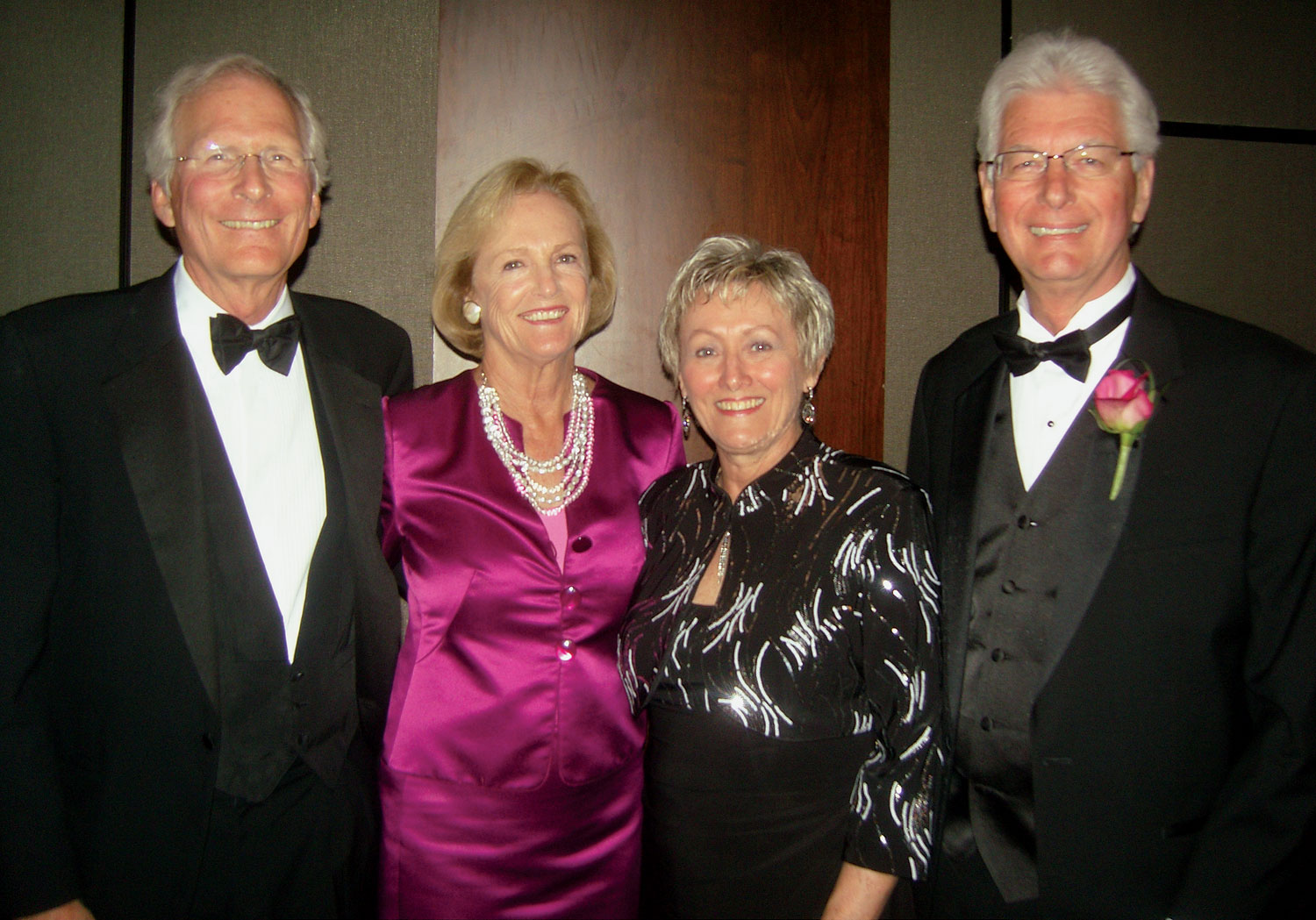 Rob, left, and Susan Culp, Culp; Donna and Larry Rogers, Sealy.