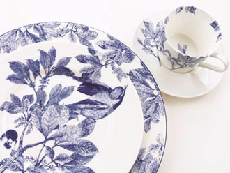 Arbor dinnerware from Caskata