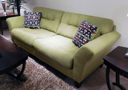 Jackson Catnapper's Halle sofa was a favorite with buyers.