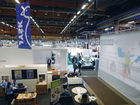 Habitare, held at Messukeskus convention center, ran concurrently with ValoLight, Salonki, and ArtHelsinki.