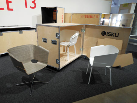 Isku, one of Finland's largest companies, had a prominent stand at Habitare and showed upholstery, case good and accent products.