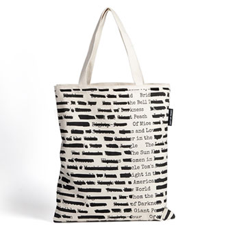 Out of Print Banned Books tote