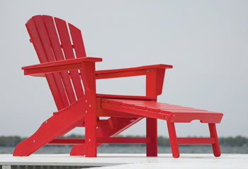 Poly-Wood South Beach Ultimate Adirondack