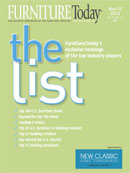 The List Cover for 2013