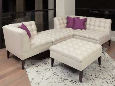 The Trinity sofa was the bestselling item at the October market for Wesley Hall. www.wesleyhall.com