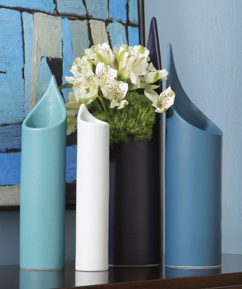 Global Views teardrop vases