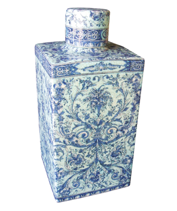 Van Cleve Collection porcelain teabox